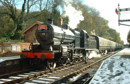 S&D 7F No. 88 at Crowcombe Heathfield