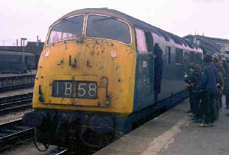 Warship D829 at Bristol Temple Meads