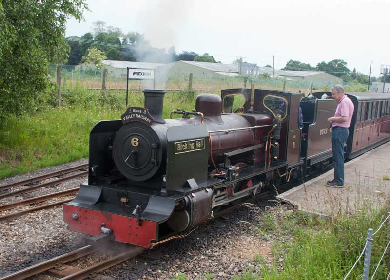 Bure Valley Railway No. 6 at Wroxham