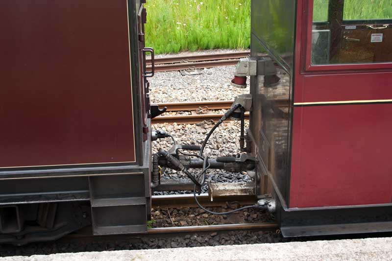 Bure Valley Railway coupling system