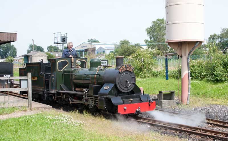 Bure Valley Railway No. 7 at Wroxham