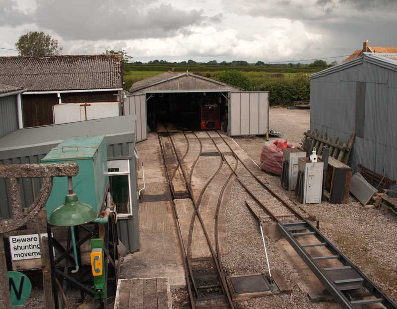 Gartell Light Railway depot