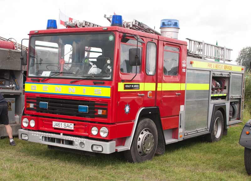 Dennis SS237 Fire Engine