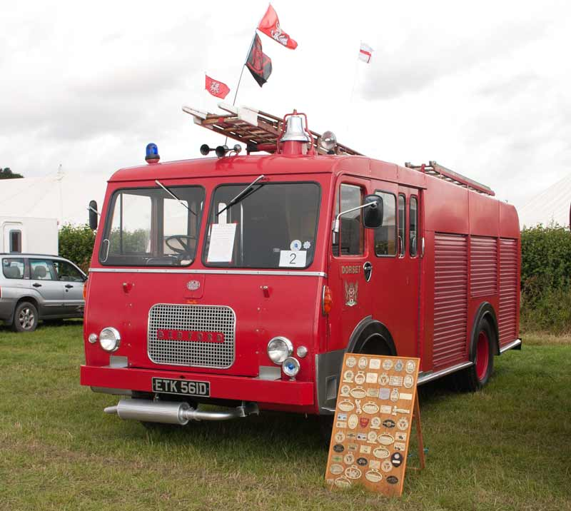 1966 Bedford J2 HCB water tender