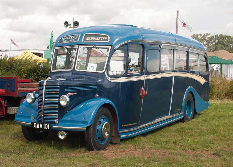 1950 Bedford OB with Duple coach body