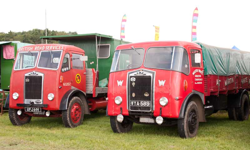 1956 and 1957 Albion FT37 lorries