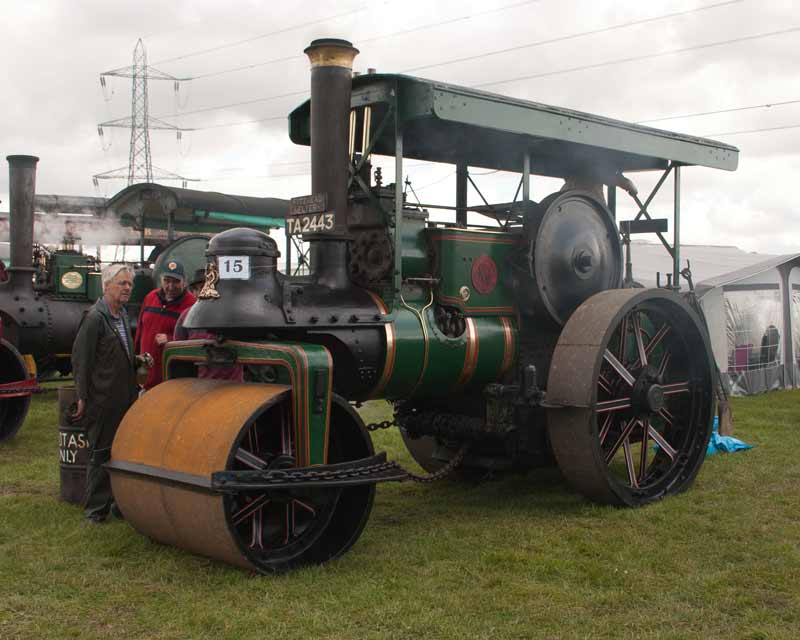 1921 Marshall 10 ton road roller