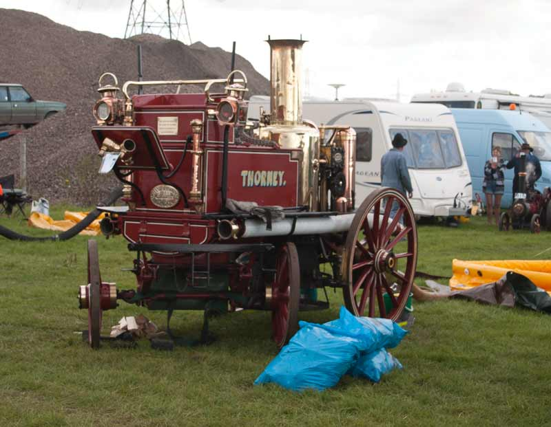 1891 Merryweather Steam Fire Engine
