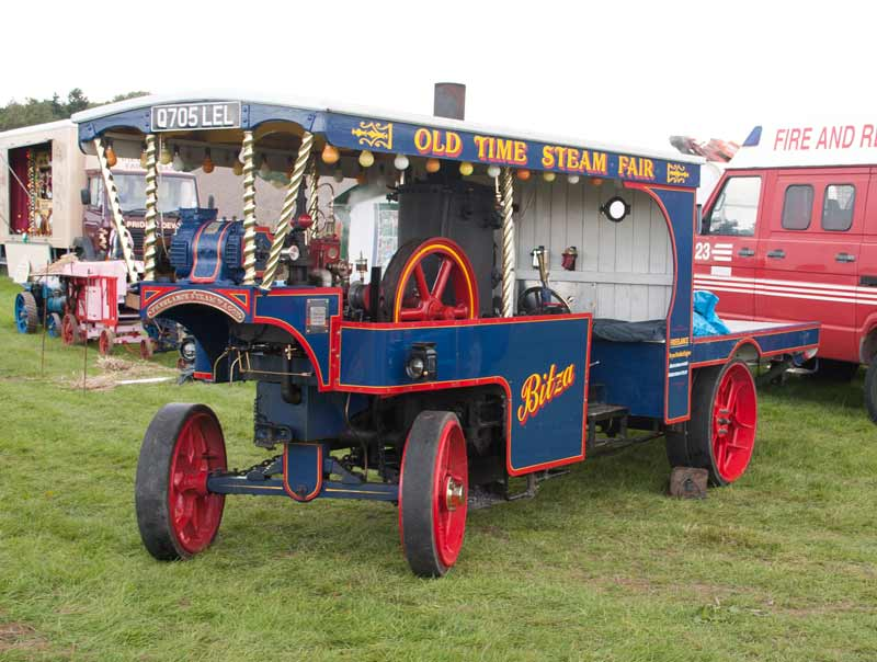 Freelance steam wagon