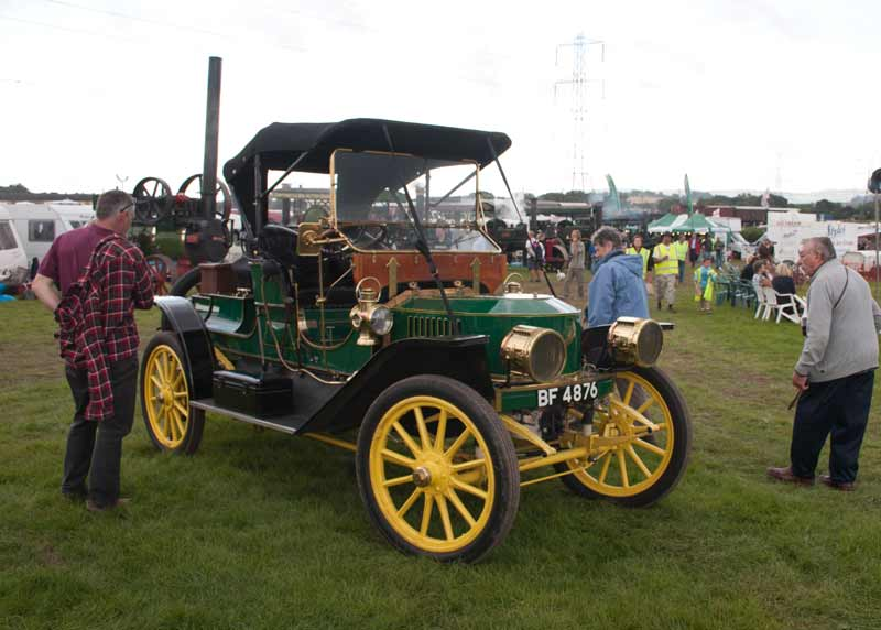 1911 Stanley 20hp Steam Car